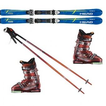 Комплект (Сноуборд/лыжи, крепления, ботинки)